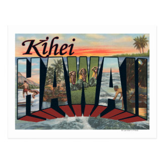 Kihei, HawaiiLarge Letter ScenesKihei, HI Postcard