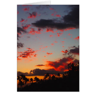 Kihei Sunset Card