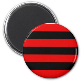 Kihelkonna valla lipp, Estonia 2 Inch Round Magnet