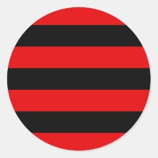 Kihelkonna valla lipp, Estonia Classic Round Sticker