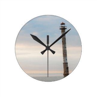 Kiipsaare Leaning Lighthouse Saaremaa Estonia Wall Clocks