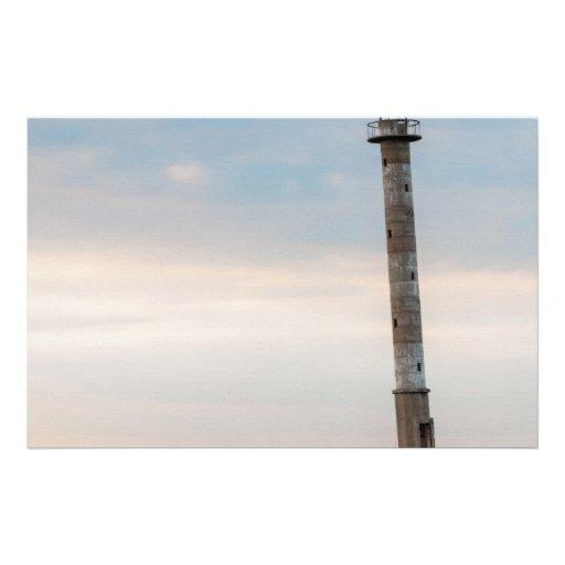 Kiipsaare Leaning Lighthouse, Saaremaa, Estonia Stationery Design
