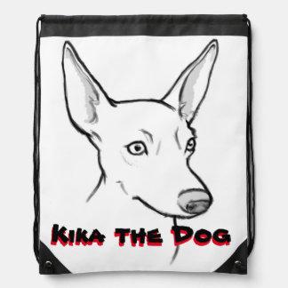 Kika la mochila del lazo del perro