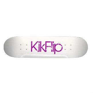 KikFlip Skate Deck