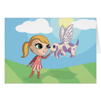 Kiki and Sugarplum Card