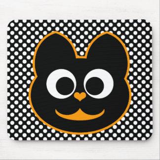KiKi Kat Orange Mouse Pad