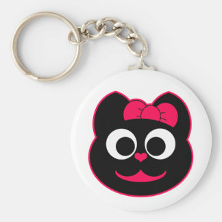 KiKi Kitty Pink Keychain