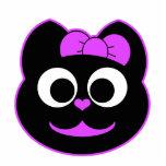 KiKi Kitty Purple Photo Cut Outs