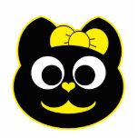 KiKi Kitty Yellow Photo Cutouts