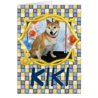Kiki - Shiba Inus Card
