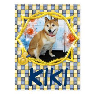 Kiki - Shiba Inus Postcard