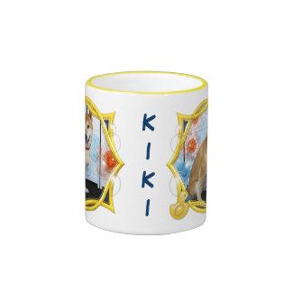 Kiki - Shiba Inus Tazas De Café