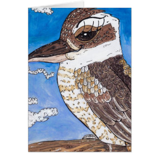 KiKi the Kookaburra Card