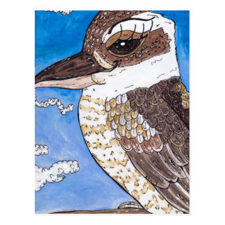 KiKi the Kookaburra Postcard