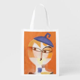 Kiki Was Koo-Koo For Klee Grocery Bags