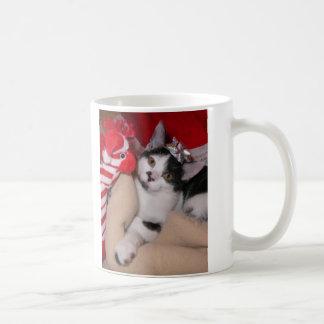 Kiko la taza del día de fiesta del gatito