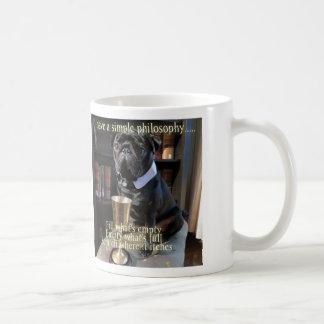 "Kiko The Pug ""Simple Philosophy"" Mug"