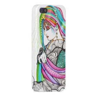 Kikuya Geisha Portrait iPhone SE/5/5s Case