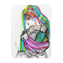 artsprojekt, geisha, woman, oriental, girl, art, painting, japan, [[missing key: type_fuji_fleximagne]] com design gráfico personalizado