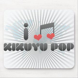 Kikuyu Pop fan Mousepad