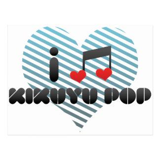Kikuyu Pop fan Postcard