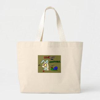 Kil smiles rabbit canvas bag