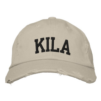 Kila Embroidered Hat Embroidered Baseball Cap
