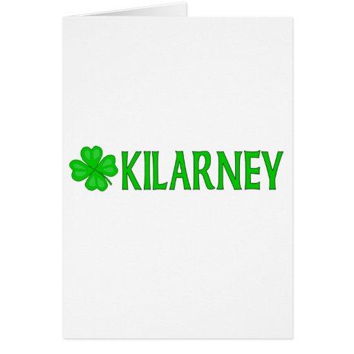 Kilarney, Irlanda Tarjeta De Felicitación