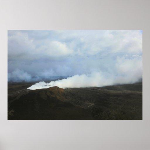 kilauea big island volcano lava flow posters