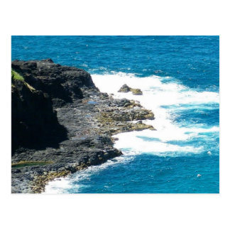 Kilauea Coastline Kilauea Kauai Hawaii Postcard