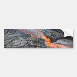 Kilauea Lava Flow Bumper Sticker