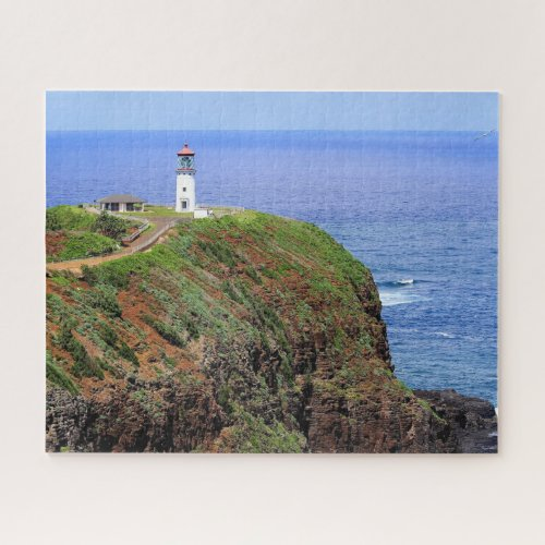 Kilauea Lighthouse on Kauai Jigsaw Puzzle