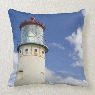 Kilauea Lighthouse Throw Pillows