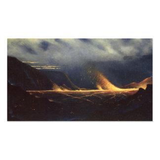 'Kilauea', oil on canvas Business Cards