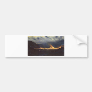 'Kilauea', oil on canvas painting Car Bumper Sticker