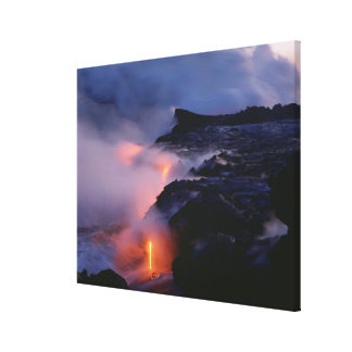 Kilauea Volcano Hawaii Volcanoes National Park 2 Stretched Canvas Print