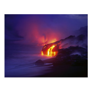 Kilauea Volcano Hawaii Volcanoes National Park 2 Postcard