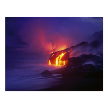 DanitaDelimont Kilauea Volcano Hawaii Volcanoes National Park 2 Postcard