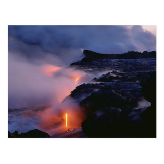 Kilauea Volcano, Hawaii Volcanoes National Park, 2 Postcard