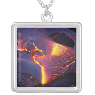 Kilauea Volcano Hawaii Volcanoes National Park Silver Plated Necklace