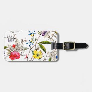 kilburn flowers textile patterns (2) bag tag