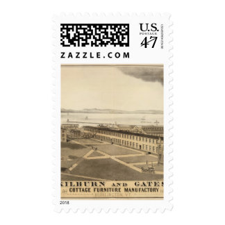 Kilburn y manufactura de los muebles de la cabaña sello postal