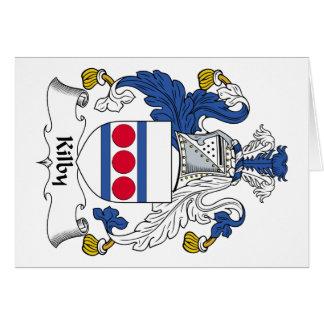 Kilby Family Crest Card