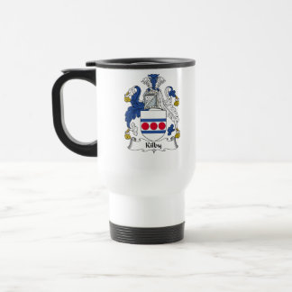 Kilby Family Crest Travel Mug