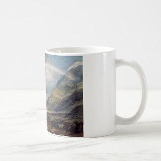Kilchern Castle, with the Cruchan Ben Mountains, S Coffee Mug