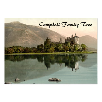 Kilchurn Castle, Loch Awe, Argyll and Bute, Scotla Business Card Templates