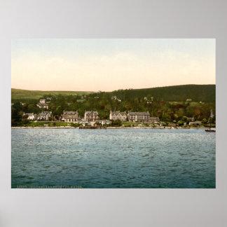 Kilcreggan, Argyll y Bute, Escocia Posters