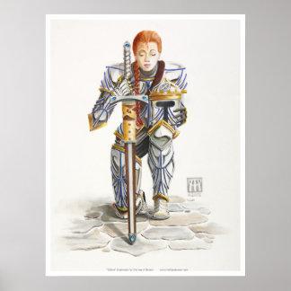 Kilfara Warrior Princess Poster