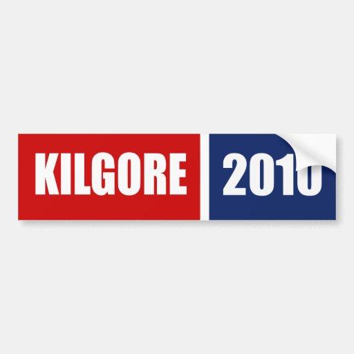 KILGORE 2010 BUMPER STICKERS