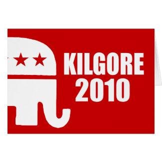 KILGORE 2010 TARJETÓN